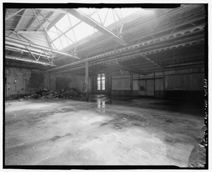File Interior Service Building Looking At Northwest