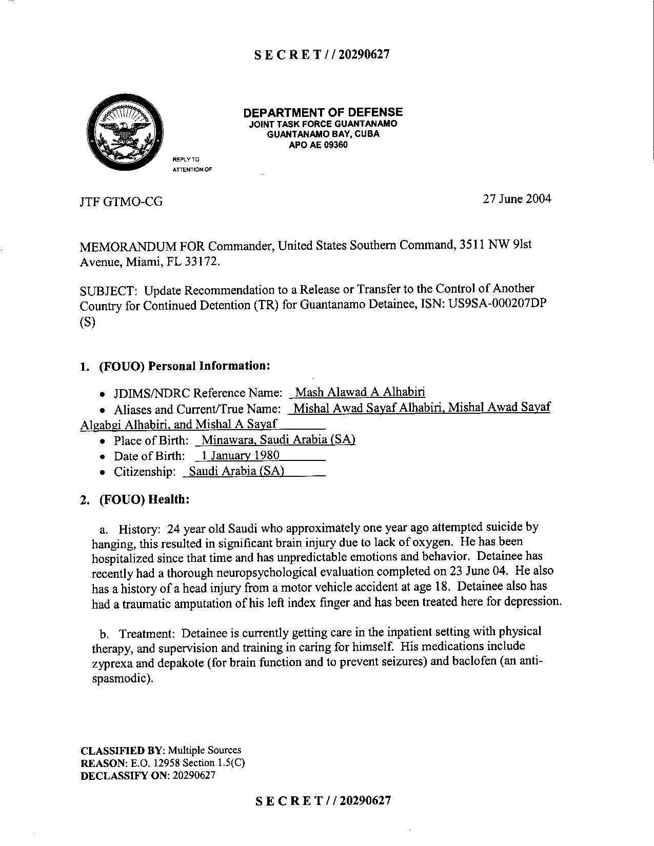 ISN 207's Guantanamo detainee assessment.pdf