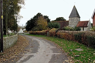 Iford, East Sussex - Image: Iford Village