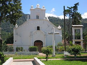 Religion in Honduras - Roman Catholic church in Duyure, Honduras