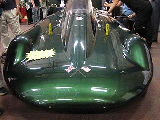 Inspiration (car) Steam powered land speed record holder