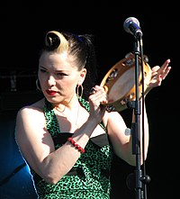 Imelda May auf dem Evolution Festival, 24. Mai 2009