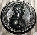 Impero, adriano, medaglione in bronzo (roma), 132-134.JPG