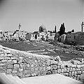 In Joodse wijk . Al Aqsa moskee in de verte. Tempelplein op de voorgrond, Bestanddeelnr 255-5375.jpg