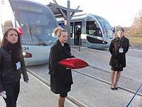 Inauguration de la branche vers Vieux-Condé de la ligne B du tramway de Valenciennes le 13 décembre 2013 (074).JPG