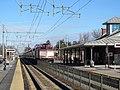 Inbound train at Mansfield, December 2014.JPG