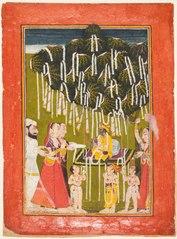 Fertility worship of Krishna