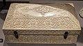 India, cofanetto in avorio e argento, 1700 ca..JPG
