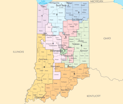 26 wonderful Indiana District Map 2016 – bnhspine.com