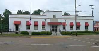 Indianola, Mississippi - Indianola Post Office