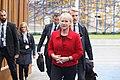 Informal meeting of ministers for foreign affairs (Gymnich). Arrivals Margot Wallström (36685964400).jpg