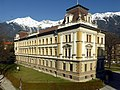 Innsbruck, Bundesbahndirektion, Südflügel, 1.jpeg