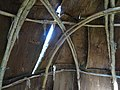 Inside a reproduction of a bark hut, 2015 09 10 (1).JPG - panoramio.jpg