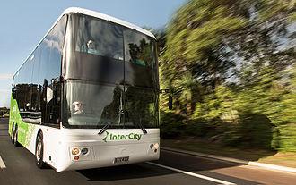 InterCity (New Zealand) - InterCity double decker coach