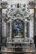 Interior of Chiesa dei Gesuiti (Venice) - left transept - cappella di Santa Maria Assunta.jpg