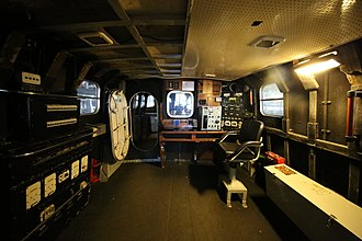 Arun-class lifeboat - The Interior of the upper rear cabin