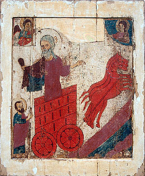 The Ascent of Prophet Elijah, a northern Russi...