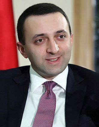 Irakli Garibashvili - Image: Irakli Garibashvili 2013. 2 (cropped)