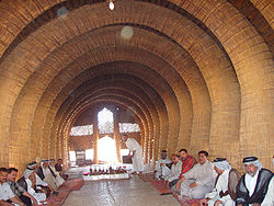 Iraqi mudhif interior