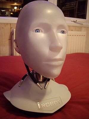 I, Robot (film) - A model of Sonny's head