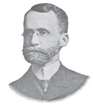 Ohio State Treasurer - Isaac B. Cameron was the Ohio State Treasurer from 1900-1904.