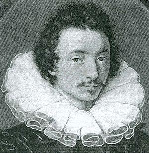 Isaac Oliver - Isaac Oliver c.1595, Æ abt 30