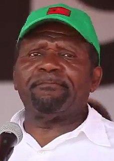 Isaías Samakuva Leader of União Nacional para a Independência Total de Angola,