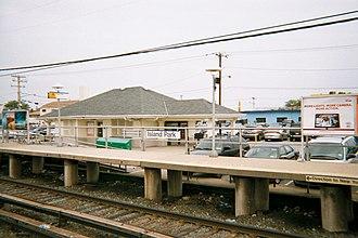 Island Park station - Island Park Station house