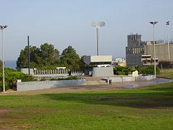 האנדרטה בגן אלישבע באשדוד