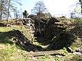 Itäinen Pihlajasaari ravine AA position and shelters.JPG