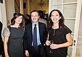 Italian Ambassador Sebastiano Cardi, SkyTg24 US Correspondent Liliana Faccioli Pintozzi, Media Consultant Alessandra Chiappetti Paquet.jpg
