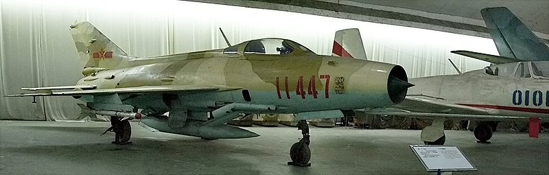 File:J-7I fighter at the China Aviation museum.jpg