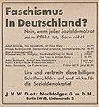 J.H.W.Dietz Nachfolger Werbung 1932.jpg