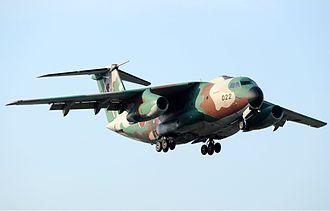 Kawasaki C-1 - A JASDF C-1 at Iruma Air Base in 2011