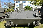 JGSDF Type 75 wind measurement vehicle(No.KU130A-0012A) front view at Camp Himeji October 21, 2018.jpg