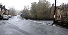 Jackson Bridge - Scholes Road Junction road Bridge.JPG