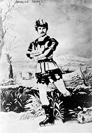 Jackson Haines - Photograph of Haines