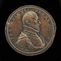 Frédéric Perrenot, 1536-1602, Lord of Champagney, Governor of Antwerp 1571 [obverse]
