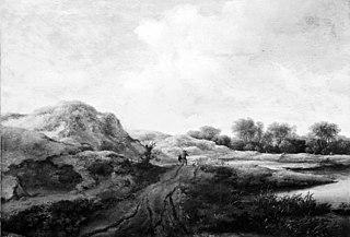 Dune paysage près de Haarlem