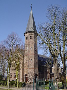 De Jacobuskerk in Kethel