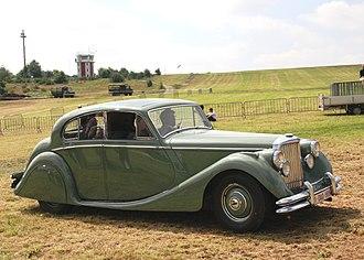 Jaguar Mark V - 1949 saloon