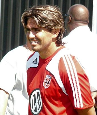 Jaime Moreno holds most of D.C. United's offensive records. JaimeMoreno20080803.JPG
