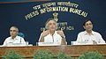 "Jairam Ramesh addressing at the release of a booklet on ""India's Submission to the United Nations Framework Convention on Climate Change"", in New Delhi on July 31, 2009.jpg"