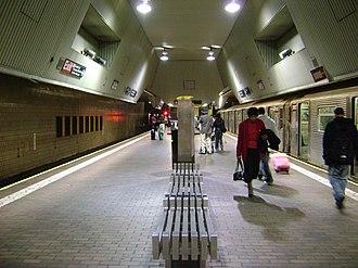 Jamaica Center–Parsons/Archer (Archer Avenue lines) - Upper level platform