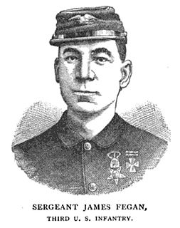 James Fegan United States Army Medal of Honor recipient