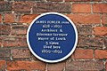 James Fowler blue plaque - geograph.org.uk - 482058.jpg