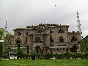 Beerwah, Jammu and Kashmir - Image: Jamia Masjid Beerwah