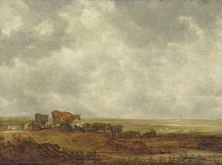 View over a Flat Landscape