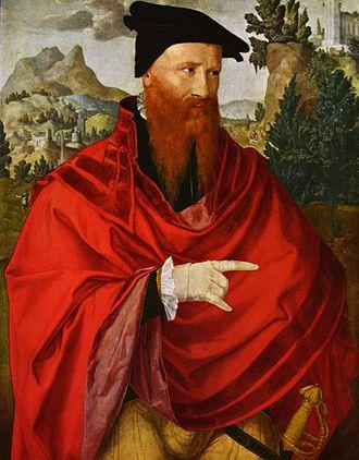 David Joris - Jan van Scorel: David Joris, 16th century