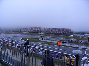 2007 Japanese Grand Prix - View from controversial 'C' stand.